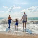 First Home Buyer Walking on beach
